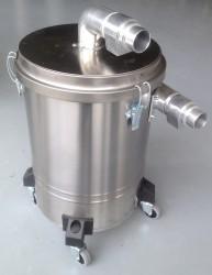 Bouwstofzuiger voorafscheider HD-50-RVS